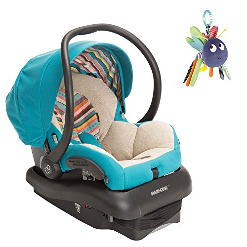Maxi Cosi Mico Ap Infant Car Seat In Bohemian Blue W Dangly Bug front-962017