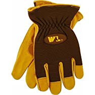 Wells Lamont 1106M Cowhide Unlined Leather Work Glove-MED HD COWHID LTHR GLOVE