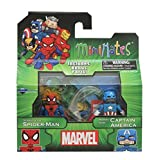 Marvel Minimates Best Of Series 3 Minifigure 2-Pack <b>Spider Sense Spider-Man & Marvel Now Captain America</b>