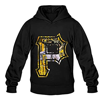 Men's Pittsburgh Pirates Team Logo Hoodies Black