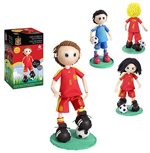 Fofuchas - Kit creativo Selección Fútbol España (Carchivo 70020100)