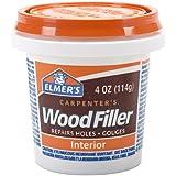 Elmer's Products  E847 Carpenter's Interior Wood Filler, 1/4-Pint
