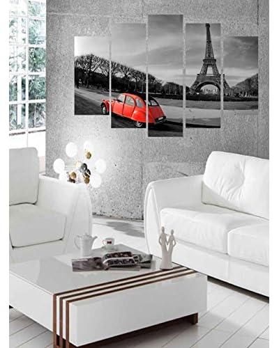Deco Range muurschildering Set van 5