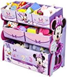 Disney Multi-Bin Toy Organizer, Minnie Mouse by Delta