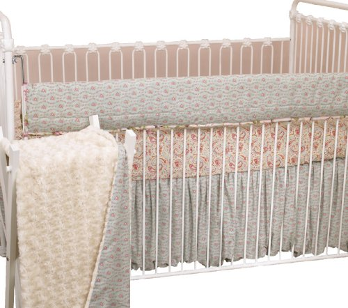 Paisley Crib Bedding Sets 6444 front