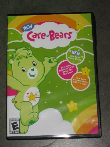 "Care Bears ""Order On The Court"" Dvd Plus Bonus Catch A Star Computer Game"