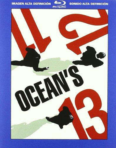 Pack: Ocean's Eleven + Ocean's Twelve + Ocean's 13 [Blu-ray]