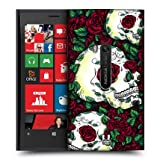 Head Case Red Florid Of Skulls Design Protective Back Case For Nokia Lumia 920