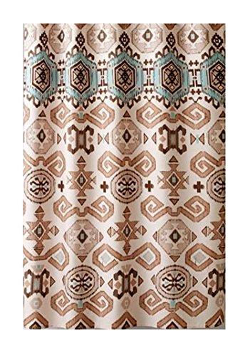 Aztec Fabric Shower Curtain Southwestern Design (Southwestern Shower Curtain compare prices)