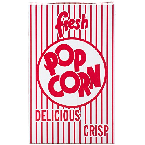 Great Western .74 oz. Close-top Cardboard Disposable Theater/Stadium Popcorn Box - 50 Pieces (Popcorn Cardboard compare prices)