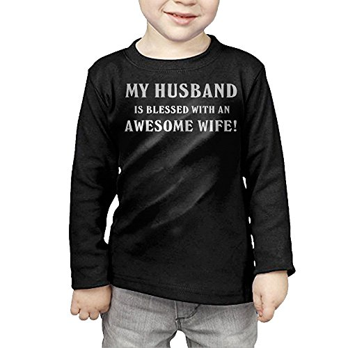 My Husband Is Blessed With An Awesome Wife Child Long Sleeve T-Shirts (Quilt Pattern The Gypsy Wife compare prices)