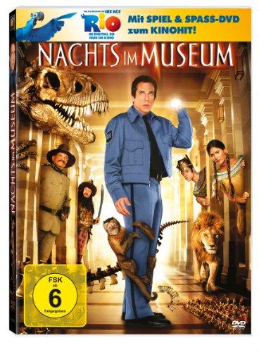 Nachts im Museum (+ Rio Activity Disc) [2 DVDs]
