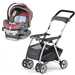 chicco keyfit caddy stroller with foxy cortina keyfit 30 infant car seat infant. Black Bedroom Furniture Sets. Home Design Ideas
