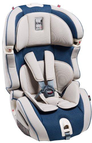 Kiwy 14103KW06B SLF23 Q-Fix - Seggiolino auto per bambini, gruppi 1/2/3 (9-36 kg) con adattatore Q-Fix per Isofix, certificato ECE, colore: Blu oceano