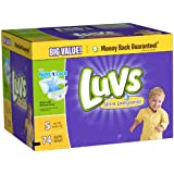 Luvs Ultra Leakguards Stage 5 (Over 27 lbs) Diapers - 74 CT