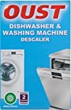 Oust Pack Of 2 Dishwasher & Washing Machine Deep Cleaning Descaler