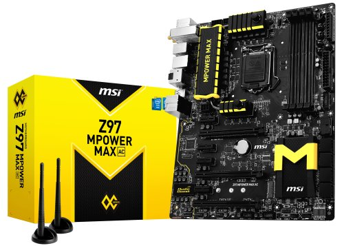 MSI Z97 MPOWER MAX AC ATXマザーボード 日本正規代理店品 MB2090 Z97 MPOWER MAX AC