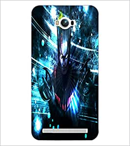 PrintDhaba Batman D-3435 Back Case Cover for ASUS ZENFONE MAX ZC550KL (2016) (Multi-Coloured)