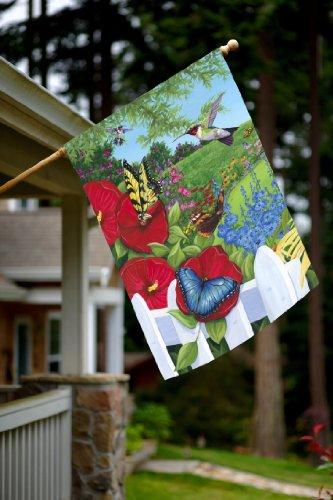 Toland Home Garden Garden Frenzy 28 X 40 Inch Decorative