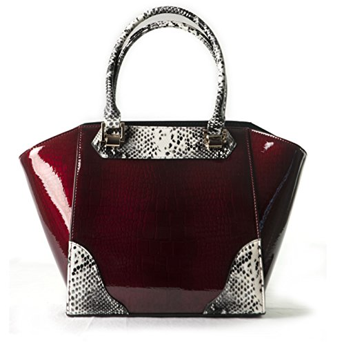BRAVO-Handbags-Elena-Cherry-Crocodile-Print-with-Python-Leather-Trim-Handles-and-Accents-Tod-Bag-Medium