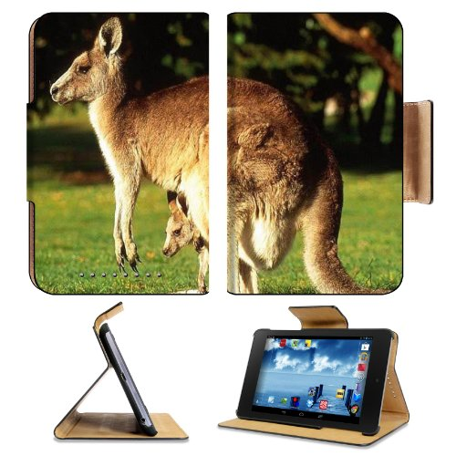 Animal Wildlife Kangaroo Mother Baby Australia Outback Google Nexus 7 First Generation Flip Case Stand Magnetic Cover Open Ports Customized Made To Order Support Ready Premium Deluxe Pu Leather 7 7/8 Inch (200Mm) X 5 Inch (127Mm) X 11/16 Inch (17Mm) Luxla front-1067540