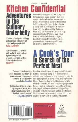Omnibus: Kitchen Confidential: Adventures in the Culinary Underbelly & A Cook's Tour: In Search of the Perfect Meal: