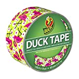 Duck Brand 283041 Flamingo Printed Duct Tape, 1.88 Inches x 10 Yards, Single Roll