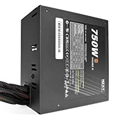 NZXT Hale82N 750W 80 Plus Bronze Active 240-Pin Non-modular Power Supply, Black np-1bn-0750a-us