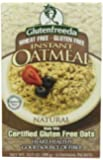 Glutenfreeda's Instant Oatmeal, Natural, Natural, 10.5-Ounce Boxes (Pack of 8)