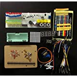 Breadboard Electronic Parts Pack Kit With A Plastic Box For Arduino Resistance Ceramic Capacitors For Arduino...