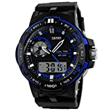 Panegy Unisex Student Outdoor Waterproof Screen Digital LED Sport Wrist Watches Stopwatch Chronograph