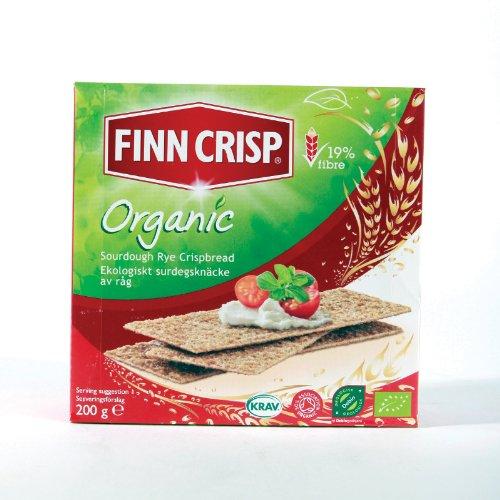 Finn Crisp Organic Crispbread (200G) Organic Vegan