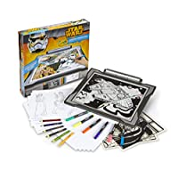 Crayola Light Up Tracing Pad, Star Wars Toy