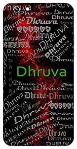Dhruva (Son Of Uttanapad) Name & Sign Printed All over customize & Personalized!! Protective back cover for your Smart Phone : Moto G-4