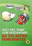 Sagt das Schaf zum Rasenmäher - Die 555 besten Schülerwitze