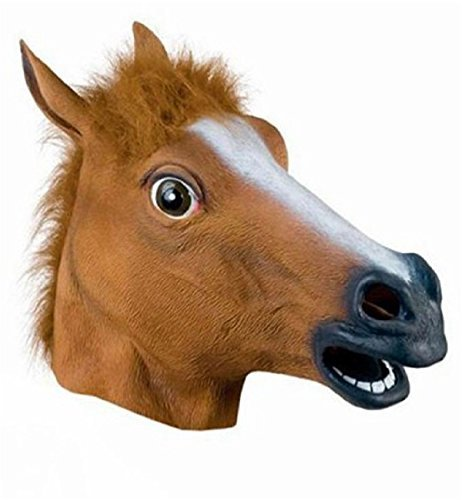 Miyaya® Halloween Horse Head Mask (Horses Head Mask compare prices)