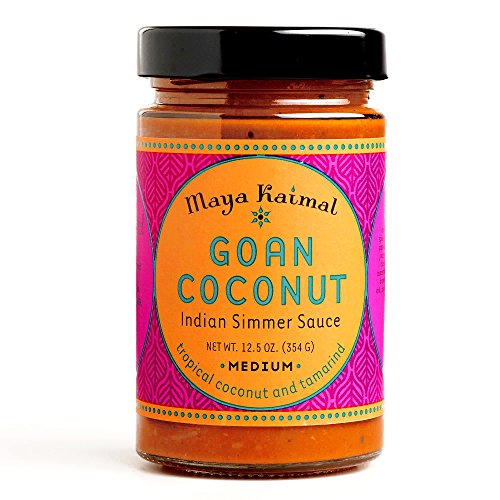 Maya Kaimal Goan Coconut Indian Simmer Sauce 12.5 oz each (1 Item Per Order) (Coconut Curry Simmer Sauce compare prices)