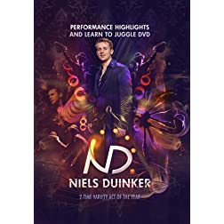 Niels Duinker - Performance Highlights and Learn to Juggle DVD