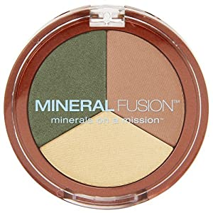 Mineral Fusion Natural Brands Eye Shadow Trio, Imagine, 0.10 Ounce by Mineral Fusion Natural