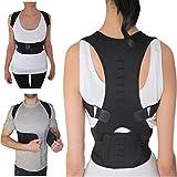 Thoracic Back Brace Support for Back Neck Shoulder Upper Back Pain Relief, Perfect Posture Corrector Strap for Cervical Spine (Medium)