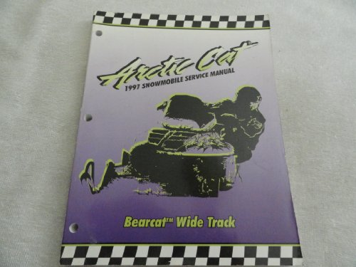 1997 Arctic Cat Bearcat Wide Track Snowmobile Service Repair Manual