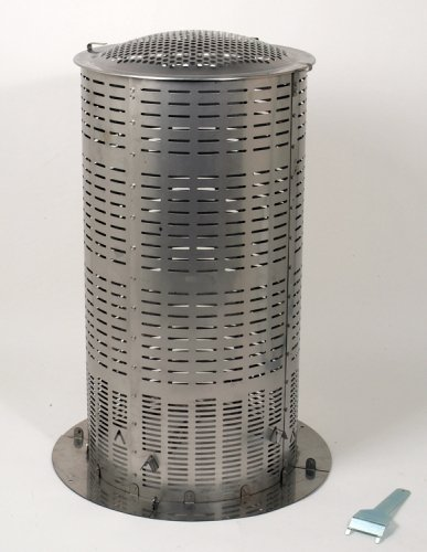 Awardpedia extra large 100 stainless steel hi temp burn for Household incinerator design