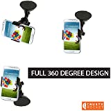 No Hassle Money Back Guarantee, Universal Cell Phone Car Mount Holder with Very Strong Suction By Crusty Rocket, the Right Car Mount for Your Phone. Phones Such As 4s/5/5s/5c/6, Galaxy S4/s3/s2/Note, HTC One, Gps/mp4 and More.