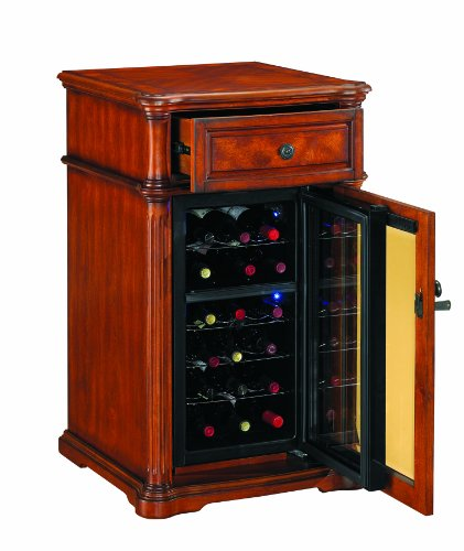 Built In Wine Cooler Cabinet front-23198