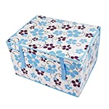 storage bin storage bins storage containers Clothes clothing bin outsize beauty covered baina lates box sorting box Storage box locker receive a case different colors to choose (Middle-size:50*40*30cm)