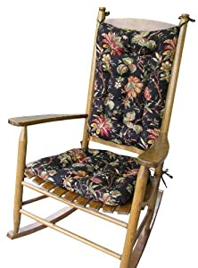 Rocking Chair Pad Set Felicite Colonial