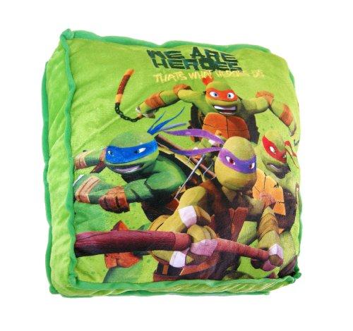 Tortugas Ninja - Cojín cuadrado, 40 cm (United Labels 810698)
