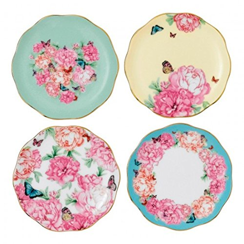 Big Save! Tidbit Plates Set of 4