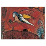 Marc Chagall: Notecard Boxes -- a stationery flip-top box filled with 20 Notecards perfect for Greetings, Birthdays or Invitations