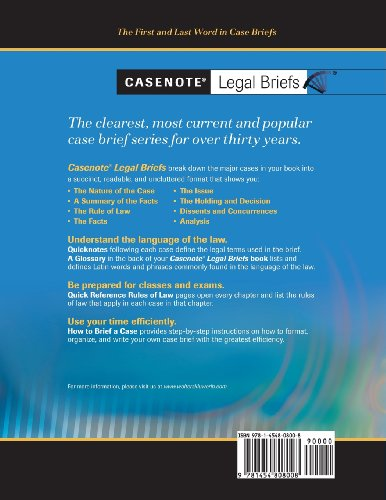 commercial law case briefs Case-study business law case study example for which can also serve as subjects for potential legal cases areas of business laws case brief, the facts of the.